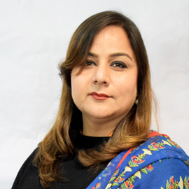 Ms. Asma Perveen (Senior Lecturer)