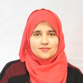 Ms. Tehmina Karamat (Assistant Professor)