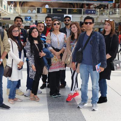 Cultural Exchange Program Kings Cross Railway Station London Eye Tower Of London And Westminster Bridge 1