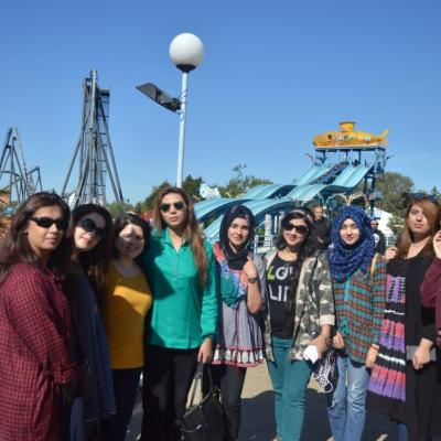 Cultural Exchange Program Thorpe Park 1