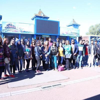 Cultural Exchange Program Thorpe Park 2