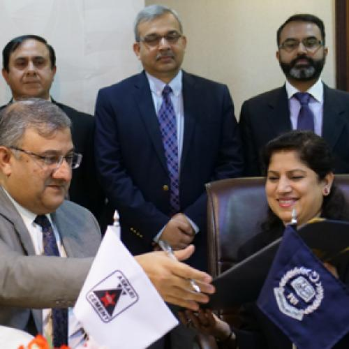 FUI has signed MOU with Askari Cement Limited (ACL)